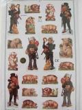Kaminfeger und Schweinchen