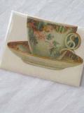 Karte 'Tea cup'