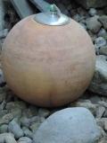 Öllampe in Kugelform