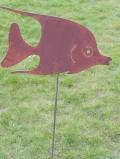Fisch auf Stab