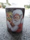 Kerze 'Weihnachtsmann'