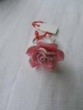 Rosen-Fingerring pink