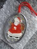 Glasmalerei 'Weihnachtsmann'